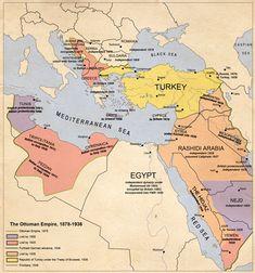 The Ottoman decline, by edthomasten on DeviantArt European History, World History, Modern History, Naher Osten, Empire Ottoman, Geography Map, Turkish People, Alternate History, Old Maps
