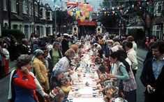 silver jubilee 1977...we had a street party with games and fancy dress it was a lovely community day