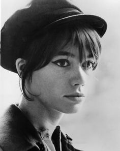 Francoise Hardy is a French singer and actress. Hardy is a popular figure in music and fashion.