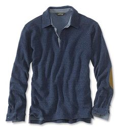 With looks considerably more tailored than a polo should have the right to look, this is the men's long-sleeved polo shirt that will make you yearn for cooler weather.