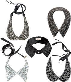 Great way to dress up any top #collar #diamondcollar #necklace