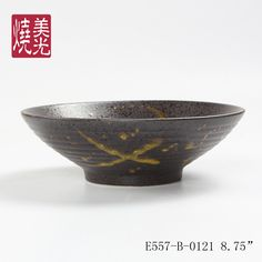 Japanese&Korean style ceramic noodle bowl E557-B-0121   Size: diameter 6 inch,8.5 inch and 9.5 inch