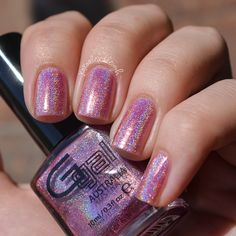 *SOLD - SHIPPING MONDAY* Glitter Gal Flawless Pink ~2 manis (swap or $5 + ship and PP fees)
