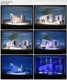 Arts And Crafts For Preschoolers Stage Set Design, Set Design Theatre, Mamma Mia, Stag Design, Theater, Broadway, Summer Set, Contemporary Dance, Scenic Design