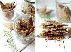 happy, gluten-free crackers via mynewroots