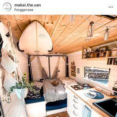 Build A Camper Van, Camper Van Life, Bus Camper, Hippie Camper, Beach Camper, Camper Trailers, Travel Trailers, Van Conversion Interior, Camper Van Conversion Diy