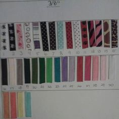 100 Lined Alligator Clips by MissKittysBootique on Etsy, $18.50