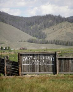 Devil's Thumb Ranch in Tabernash, Colorado