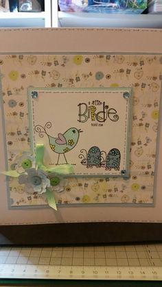 A little bird told me card