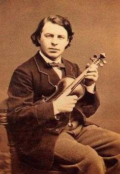 Joseph Joachim June 1831 – 15 August was a Hungarian violinist, conductor, composer and teacher. A close collaborator of Johannes Brahms, he is widely regarded as one of the most significant violinists of the century. Famous Musicians, Conductors, Violin, 19th Century, Musicals, Pictures, Joseph, 15 August, Teacher
