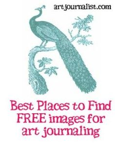 Best places to find FREE graphics for your art journaling