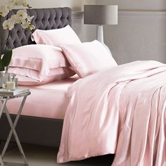 Beautiful Color Silk Bed Sheets Ideas 4 (Beautiful Color Silk Bed Sheets Ideas design ideas and photos Silk Bed Sheets, Silk Bedding, Cheap Bed Sheets, Linen Duvet, Bed Linen Design, Ralph Lauren, Buy Bed, Bed Linen Sets, Luxury Bedding Sets