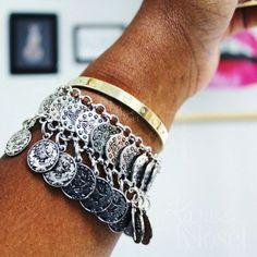 Jewelry   Boho Coin Dangle Bracelet Anklet