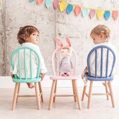 Sillita Retro Azul para niños