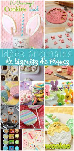 Voici plusieurs idées originales de biscuits de Pâques