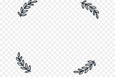 Download Simple leaf border #749238 png Clip art frames borders Leaf stencil Leaf border