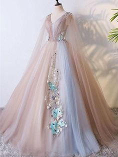 A-Line Prom Dresses #ALinePromDresses, Long Prom Dresses #LongPromDresses