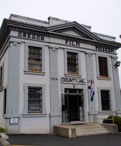 """Goonies""...Clatsop County Jail / Oregon Film Museum, Astoria OR"
