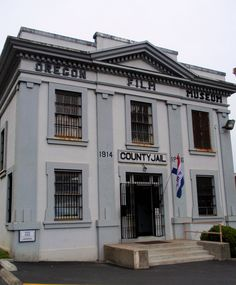 """Goonies""...Clatsop County Jail / Oregon Film Museum, Astoria OR by eg2006, via Flickr  #old #historic #jail #goonies #movie #oregonfilmmuseum #astoria #oregon #clatsopcounty"