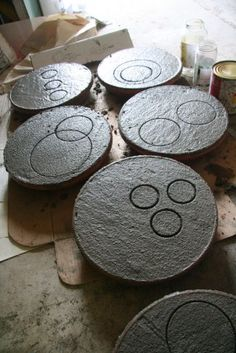 cemcrete diy cement stepping stones colour e1354612010191 outdoor living gardens design and decor  decor home design directory south africa