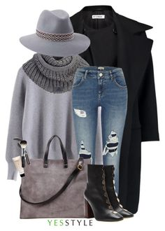 """YESSTYLE.com"" by monmondefou ❤ liked on Polyvore featuring Jil Sander, adidas, River Island, Penmayne of London, The Face Shop, E L L E R Y, Beauty, New, year and korean"