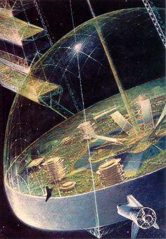 So träumten sowjetische Kinderbücher vom sozialistischen Leben auf dem Mond | Motherboard
