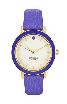 Trend Alert: 12 Colored Watches To Add To Your Collection #watches #trendalert #fashion #style #shopping #armcandy #watch #timepiece #jewelry