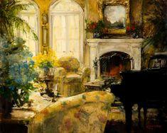 """ Amber Lit Solitude"" by Stephen Shortridge"