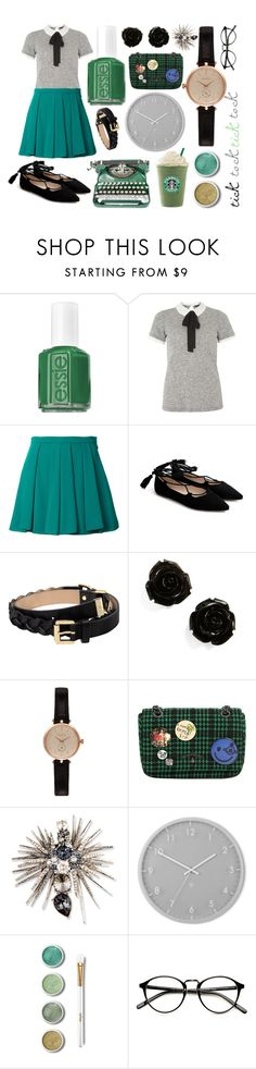"""""""Less Monday, more Thursday"""" by ferretsmither ❤ liked on Polyvore featuring beauty, Essie, Dorothy Perkins, Guild Prime, Mulberry, Barbour, Vivienne Westwood, Oscar de la Renta, Umbra and Terre Mère"""