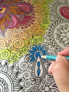 Coloring Books For Grownups AKA The Best Therapy EVER