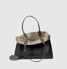 borsa shopping in pelle GG reversibile