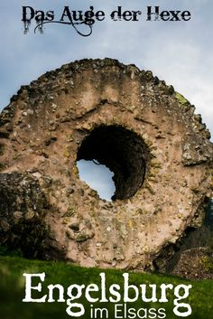 The Eye of the Witch - Engelsburg im Alsässischen Thann - Engelsburg Hexenauge Thann Alsace Vogesen France Alsace Castle château de l& L& - Texas Travel, Florida Travel, Alsace France, Baby Care Tips, Road Trip Hacks, Places Of Interest, Italy Vacation, France Travel, Venice Italy