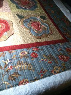 Love this border Rag Quilt, Patch Quilt, Applique Quilts, Easy Quilts, Mini Quilts, Quilt Block Patterns, Quilt Blocks, Quilting Projects, Quilting Designs