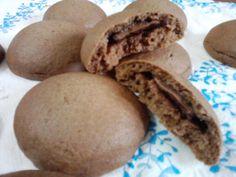 biscotti di frolla ripieni di cioccolato tipo grisbì