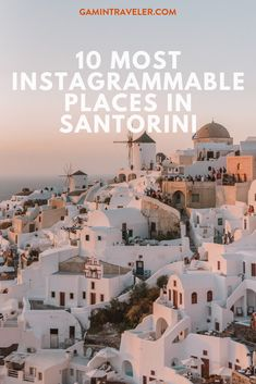 13 Amazing Things to do in Santorini (Travel Guide) - Gamintraveler Europe Destinations, Europe Travel Tips, European Travel, Budget Travel, Travel Guides, Travel Advice, Europe Budget, Travel Plan, Travel Articles