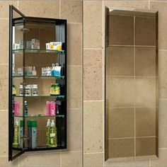 """Century Bathworks 1940 4 IN-Depth-Flat Mirror White Interior Bathroom Fixtures Single Door 4"""" Depth Or 6"""" Depth 40"""" Medicine Cabinets by Century. $455.20. Century Bathworks 1940 Bathroom Fixtures Single Door 4"""" Depth Or 6"""" Depth 40"""" Medicine Cabinets - 19""""- Wide X 40"""" Height X 4"""" Depth OR 6"""" Depth Cut Out Size 18-1/4"""" x 39-3/8"""" Available In Finishes Of Black & White & Satin Anodized Aluminum Available In Flat Mirror & Beveled Mirror Space Saver Electric Option::Add..."""