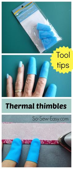 Sewing tool tips.  T