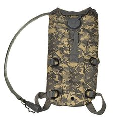 Welltop 25LSports Army ACU Camouflage Color Water Bag Hydration Pack Bladder Hydration System Water Bag Backpack for Woodland Hiking Climbing ** Want additional info? Click on the image.