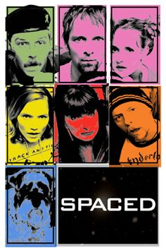 SPACED - great show with a cool fan-made print