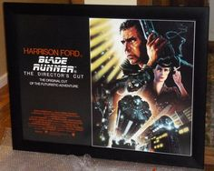 All things Spotlight Displays - Page 3 - EB Forum Movie Poster Frames, Movie Posters, Blade Runner, Custom Framing, Quad, All Things, Display, Floor Space, Film Poster