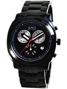 And Watch Socrates Black Dial Unisex Watch