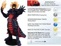 Dormammu #G006 Galactic Guardians Giant Marvel Heroclix Single - Galactic Guardians - HeroClix - Miniatures