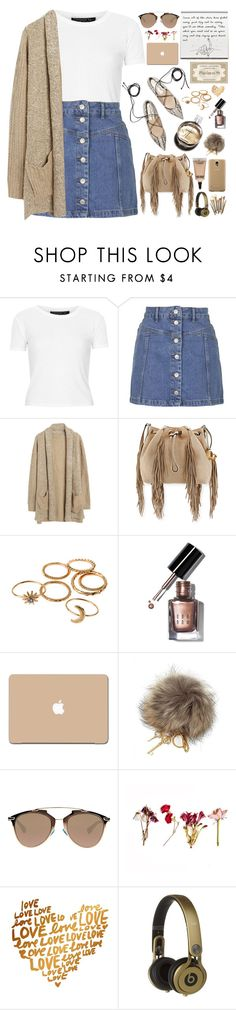 """""""2226. MAKE YOURSELF a priority once in a while. It's not selfish. It's NECESSARY."""" by chocolatepumma ❤ liked on Polyvore featuring Topshop, Chanel, Diane Von Furstenberg, Bobbi Brown Cosmetics, Dolce&Gabbana, Christian Dior, Samsung, Beats by Dr. Dre, MAC Cosmetics and Sonia Kashuk"""