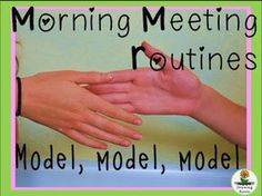 6 Ways to Get Your Morning Meeting Routine Started