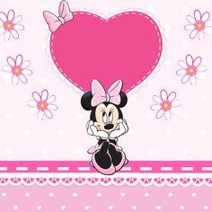 aqui les dejo estas imagenes que espero y les sea de mucha ayuda para sus proyectos ... Mickey Mouse Theme Party, Minnie Y Mickey Mouse, Minnie Birthday, 2nd Birthday, Disney Clipart, Tinkerbell Disney, Cute Frames, Valentines Greetings, Gummy Bears