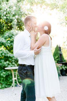 After Wedding Shoot Bride Groom Sunset