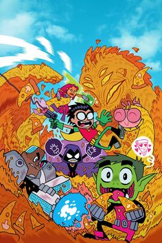 New 'Teen Titans Go!' Digital-First Comic Series Coming In December