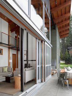 A modern #masterpiece, big #uPVC Sliding door for your main entrance, consists of several — three or more — panels that slide past each other. This #Sliding #door has the ability to get a really wide opening that can eliminate the barrier between indoors and out.
