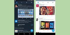 Twitter prueba un Modo Nocturno en Android
