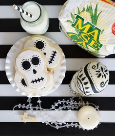 Day of the Dead Cinnamon Cookies #MasecaNosGusta